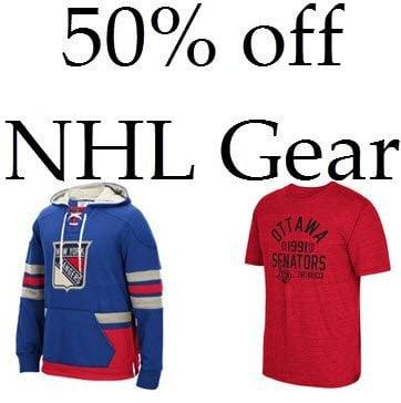 Reebok.com: Additional 50% off NHL Gear