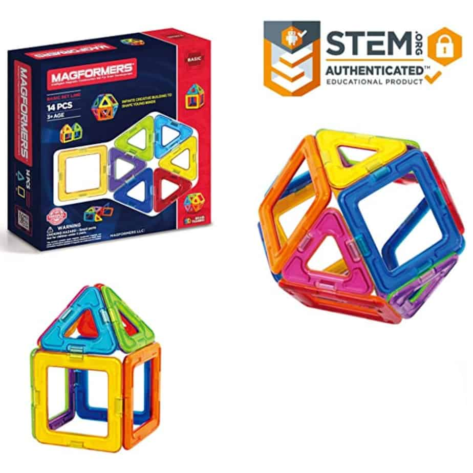 Magformers Basic Set 14-Pieces Now .72 (Was .99)