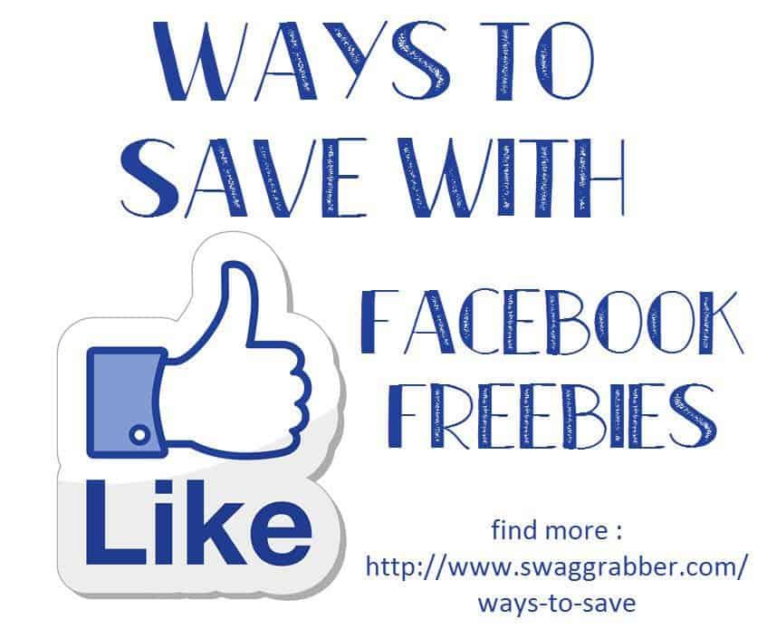 Ways to Save - Scoring Facebook Freebies