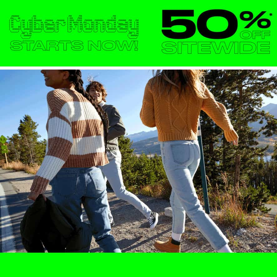 PacSun Cyber Monday Sale: 50% off Site Wide + Free Shipping