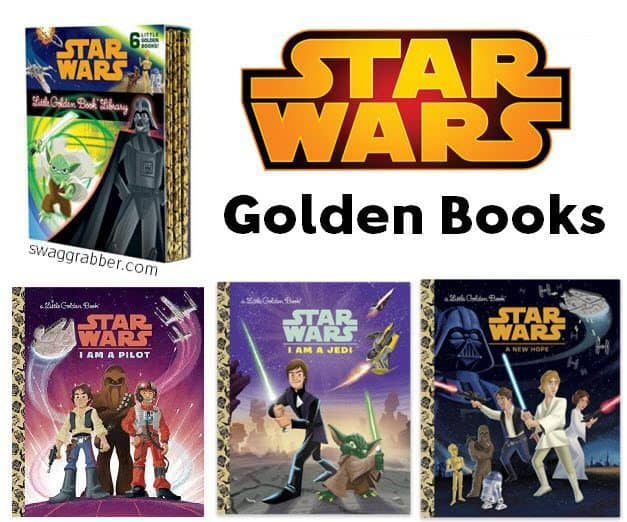 The Star Wars Little Golden Book Library ONLY $6.56  **HOT**