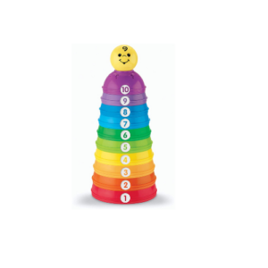 Fisher-Price Brilliant Basics Stack & Roll Cups .88