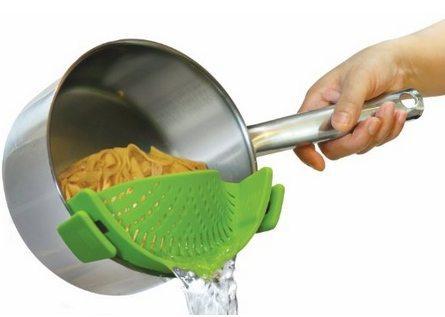 Kitchen Gizmo Snap 'n Strain Strainer Only $15.99