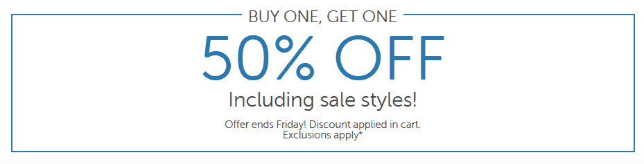 Crocs.com:  Buy One Get One 50% off - Starting at $11 Each!