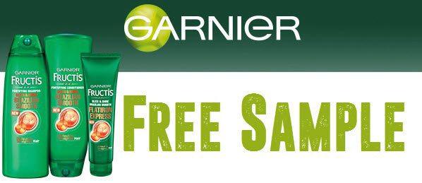 garnier free sample