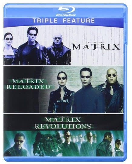 The Matrix Triple Feature on Blu-ray Only $7.99