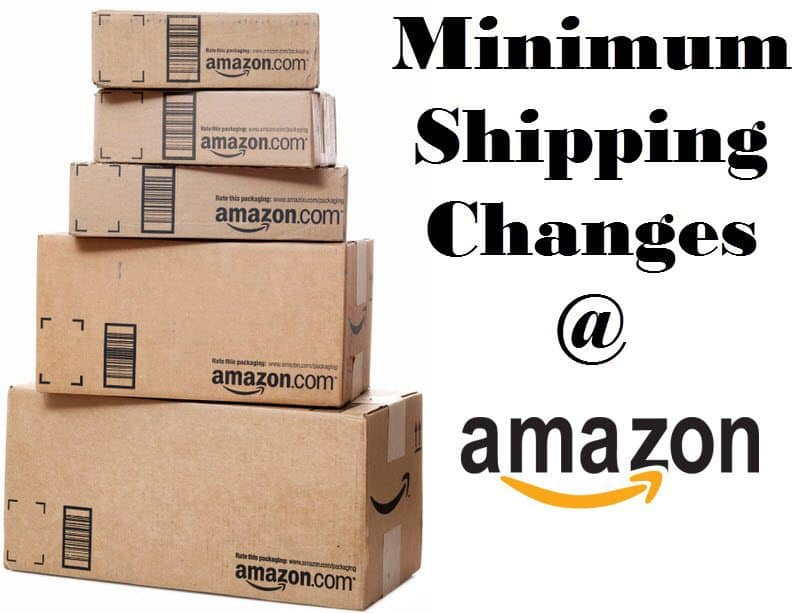 Amazon Minimum Shipping Amount Has Decreased