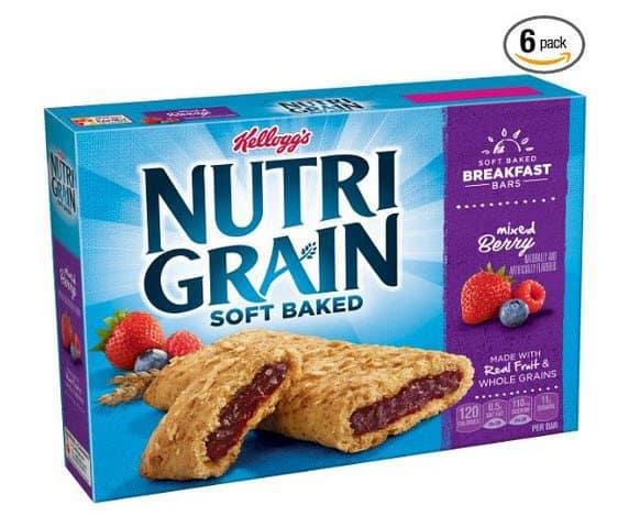 Nutri-Grain Cereal Bars As Low As $1.42 Per Box Shipped
