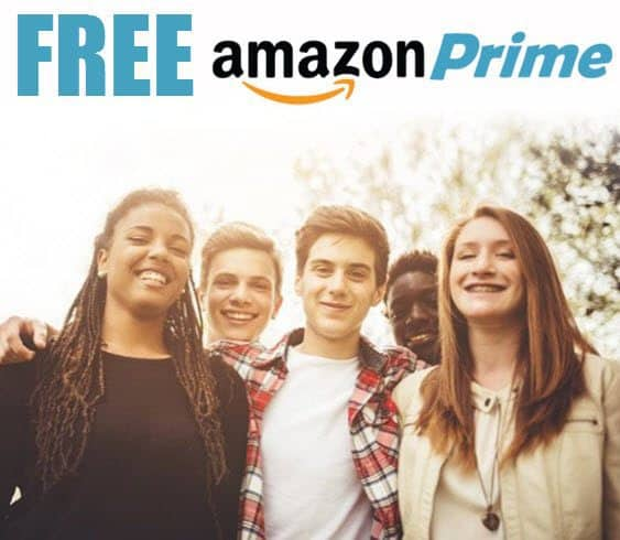 Free 6 Month Prime Membership for Students & Teachers!