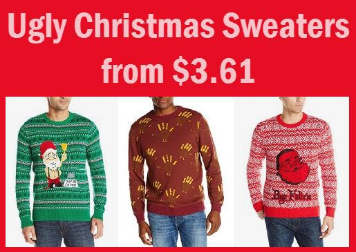 Ugly Christmas Sweaters from $3.61 **HOT**