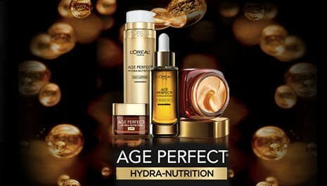 Free Sample of L'Oreal Age Perfection Hydra-Nutrition **Available Again**