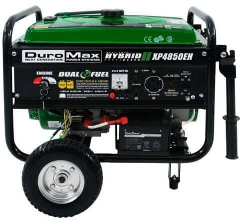 DuroMax Hybrid Portable Dual Fuel Propane / Gas Camping RV Generator $299 Shipped **$599 on Amazon**