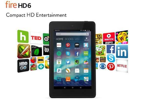 """Kindle Fire HD 6"""" Tablet Only $49.99 **HOT**"""