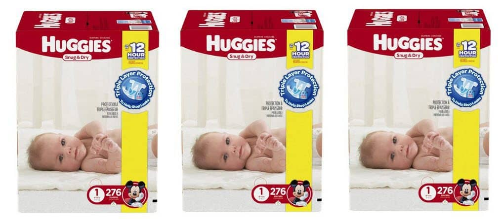 Save a Whopping 40% off Huggies Diapers @ Amazon