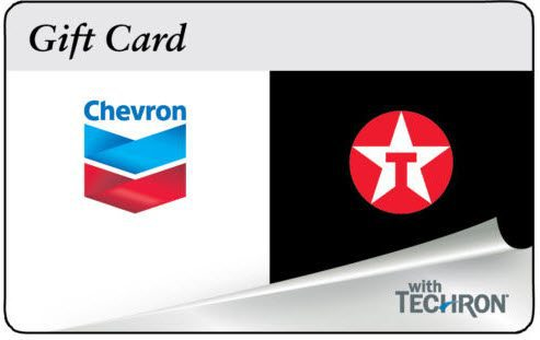 $100 ChevronTexaco Gas Gift Card For Only $94