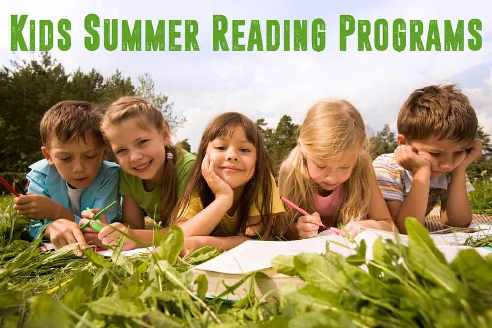 kids summer reading programs