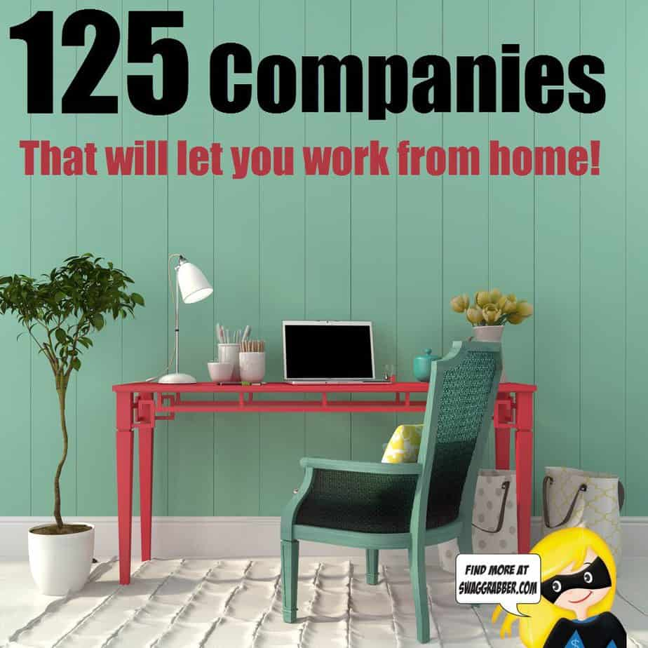 companies that offer work from home jobs 15 companies where you can work in your pajamas 100 top 5323