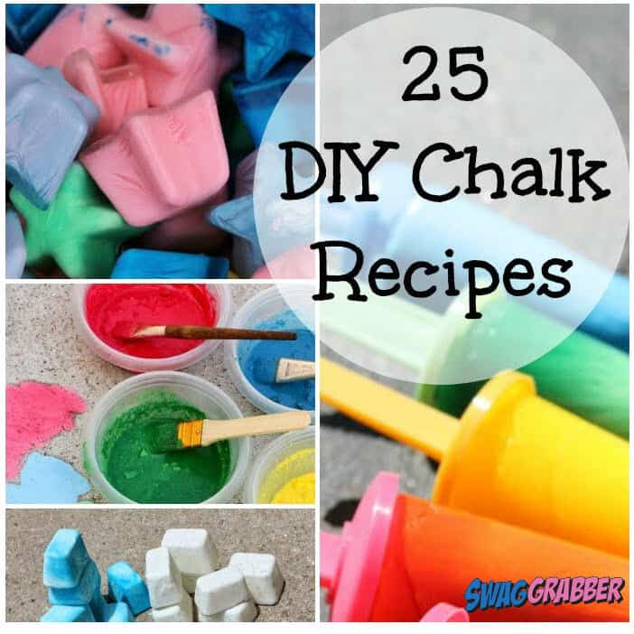 25 DIY Chalk Recipes - Learn to Make Your Own!