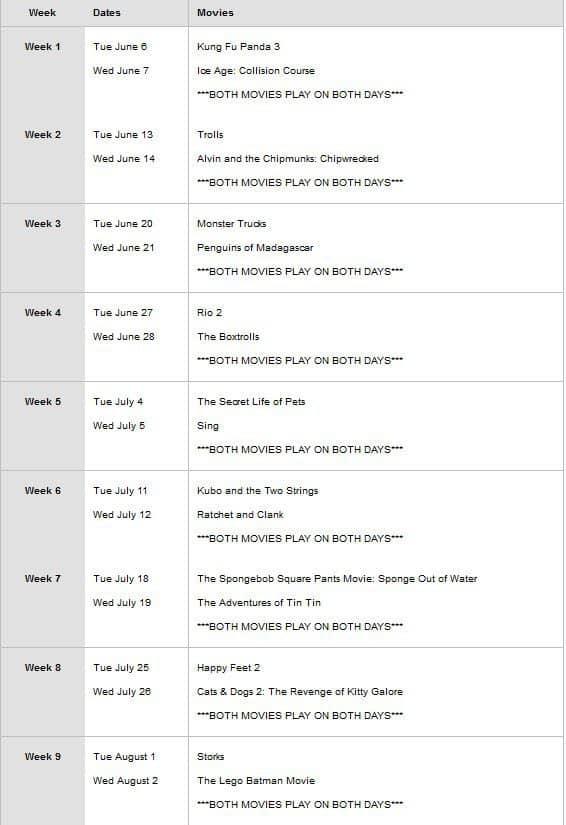 Regal Summer Movie Express = $1 Movies All Summer!