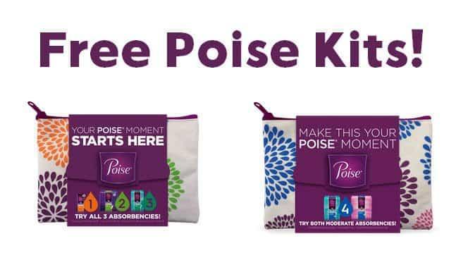 free poise kits