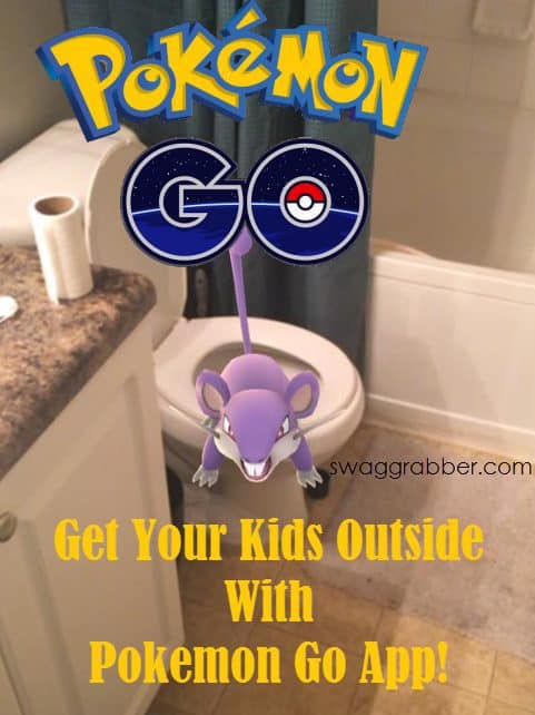 Get Your Kids Outside With Pokemon Go App
