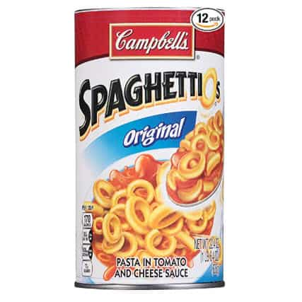 Pack of 12 Campbell's SpaghettiOs $8.86 Shipped - 83¢ Per Can