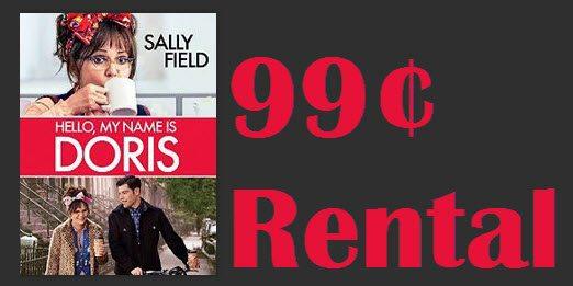 Hello, My Name Is Doris Instant Video Rental 99¢
