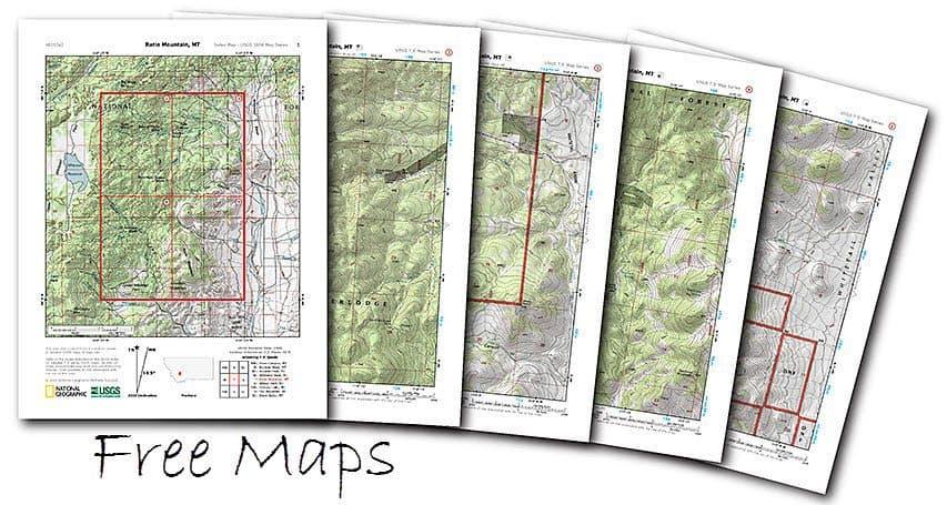 Free Printable USGS Maps