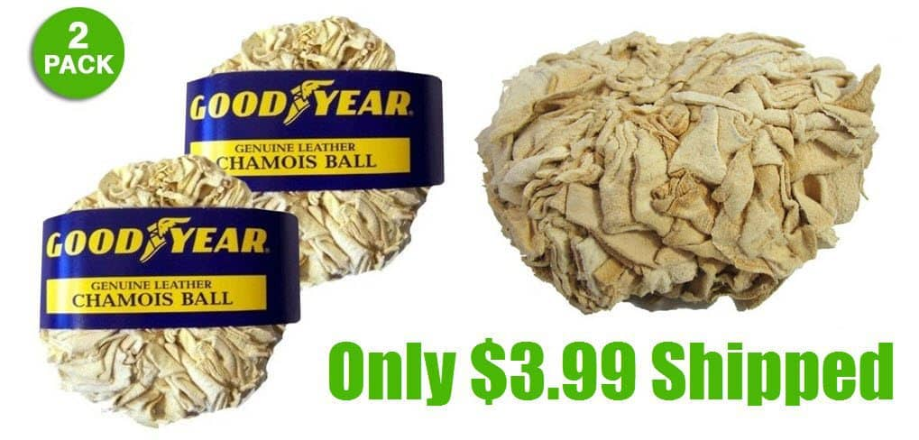 2 Pack of Goodyear Super Dry Natural Drying Balls $3.99 Shipped