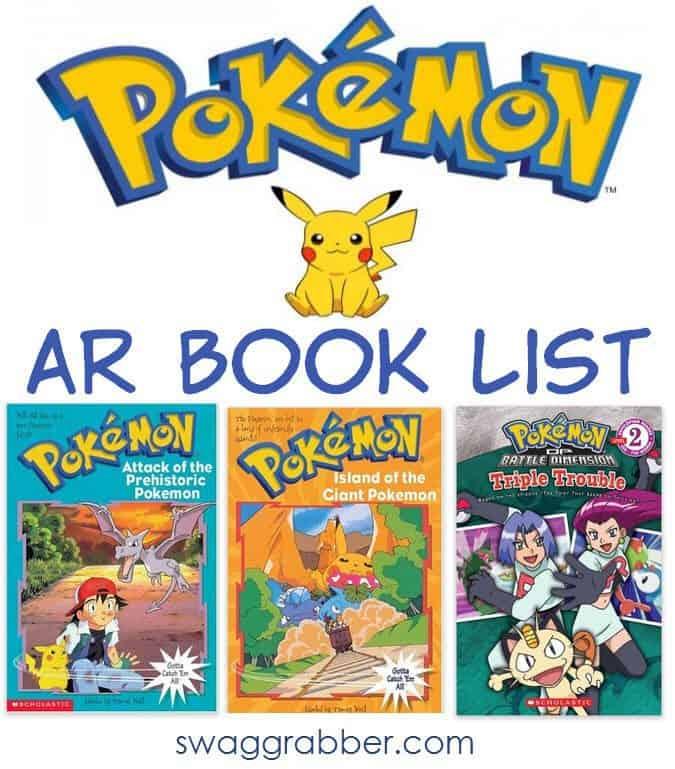 Pokemon AR Books - Pokemon Books Valid for the Accelerated Reader Program