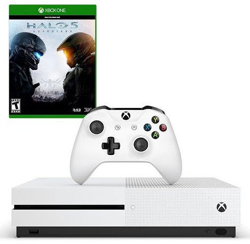 Xbox One S 500GB Console - Halo Collection Bundle $249 Shipped