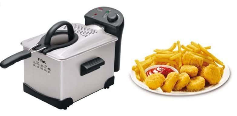 T-fal Easy Pro Enamel Immersion Deep Fryer $21.60 (Was $90)