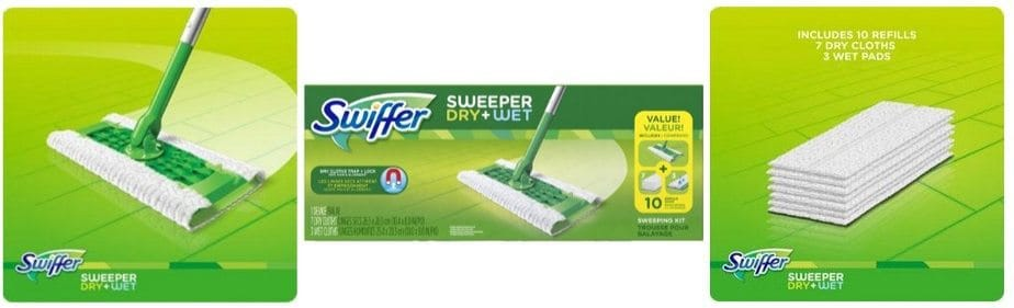 Swiffer Sweeper Floor Mop Starter Kit Only $8.99