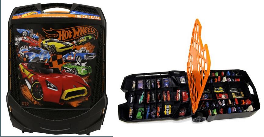 Hot Wheels 100 Car Case $13.59 (Was $22)