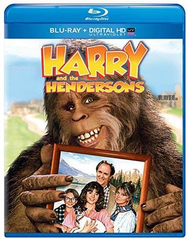 Harry and the Hendersons Blu-ray + Digital HD Only $5.00