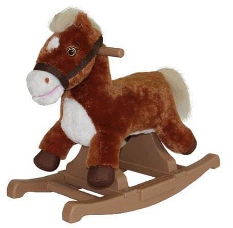 Rockin' Rider Brown Rocking Pony Ride-On $18.25 (Was $40)