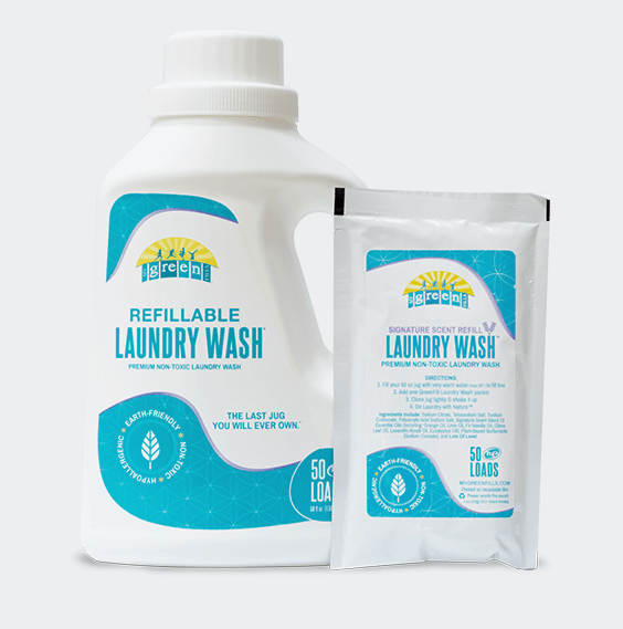 50 FREE Loads of Non-Toxic Laundry Soap