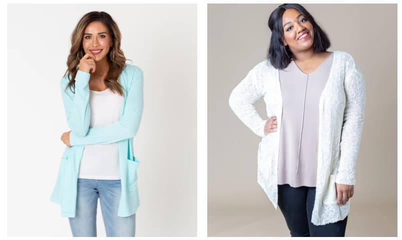 Spring Cardigans Only  w/ Free Shipping at Cents of Style