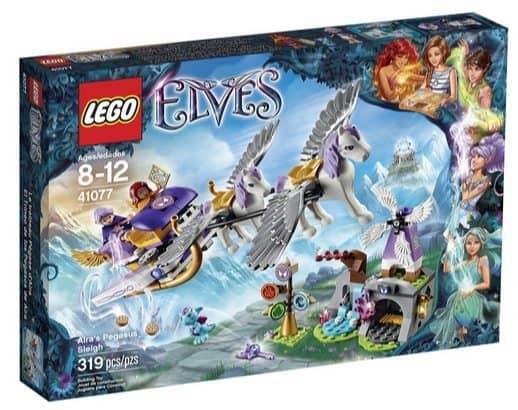 LEGO Elves Aira's Pegasus Sleigh Building Kit $19.99