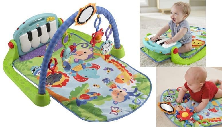 Fisher-Price Discover 'n Grow Kick and Play Piano Gym $24.64 **Highly Rated**