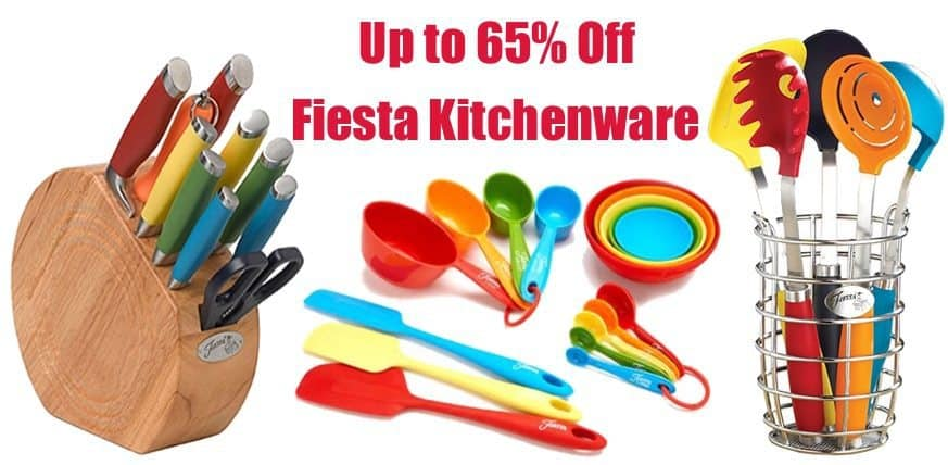 Up to 65% Off Fiesta Kitchenware **Today Only**