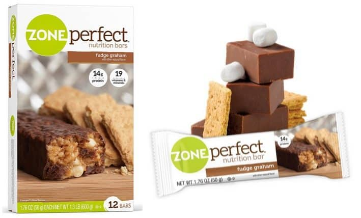 ZonePerfect 12 Count Fudge Graham Nutrition Bars Only $7.18 Shipped **60¢ per bar**