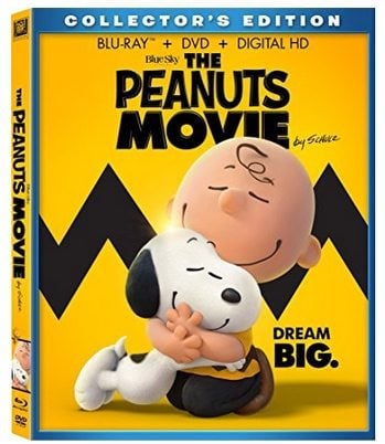 The Peanuts Movie Blu-ray Combo Only $9