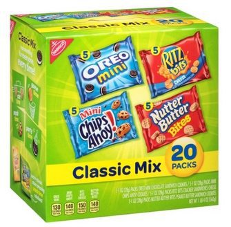 Nabisco Classic Cookie and Cracker Mix $6.98 Shipped **35¢ per bag**