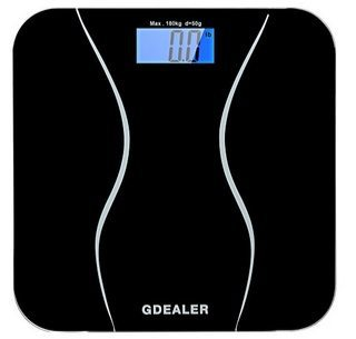 Digital Body Weight Bathroom Scale $12.99 (Was $36)