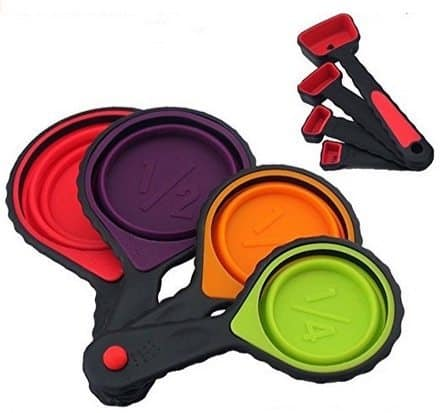 Collapsible Measuring Cups & Spoons Set Only $9.99 (Was $25)