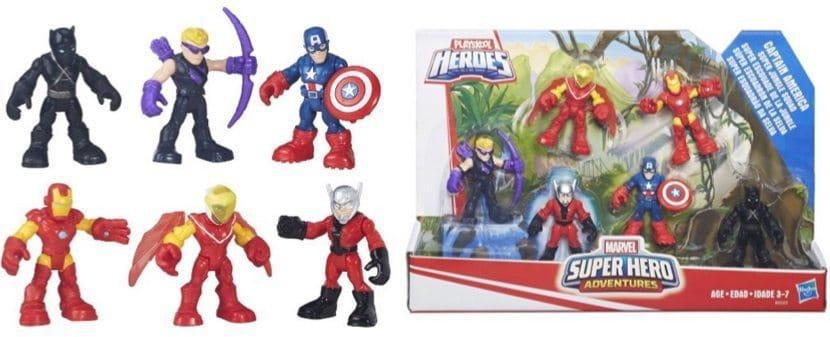 Playskool Heroes Super Hero Adventures Captain America Super Jungle Squad $11.88