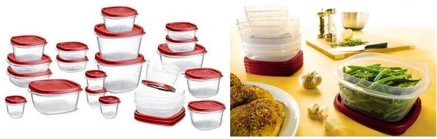 42 Piece Rubbermaid Food Storage Set Only $9.95 **TODAY ONLY**