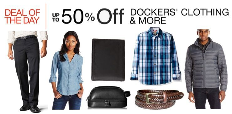 Up to 50% Off Dockers Clothing & Accessories <br>**Today Only**