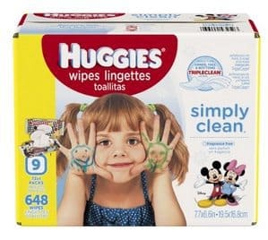 Huggies Simply Clean 648 Baby Wipes Only $9.73 Shipped **Stock Up Time**